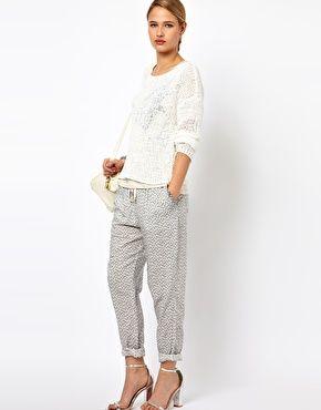 Norma Printed Pants.