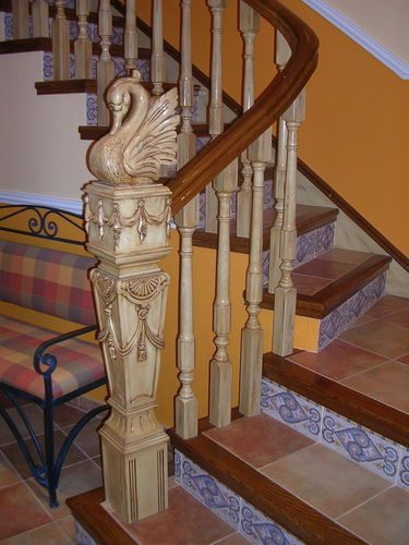 Best 25 indoor railing ideas on pinterest indoor stair for Escaleras yuste