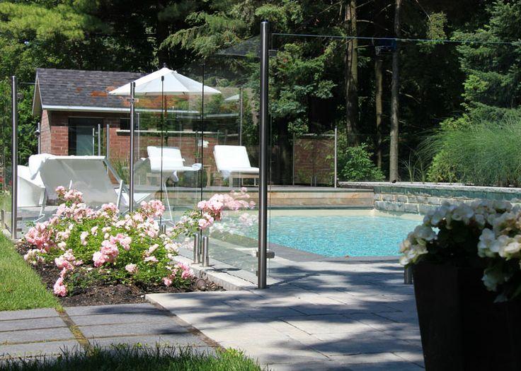Les 51 meilleures images propos de cloture barriere for Verre 51 piscine design tabac
