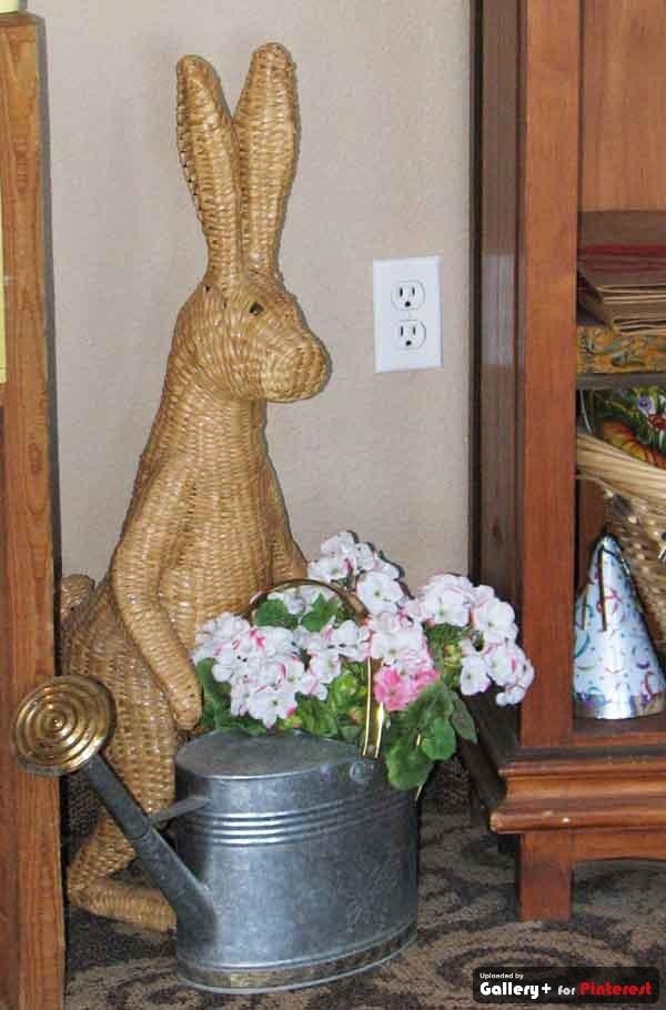wicker bunny #wicker