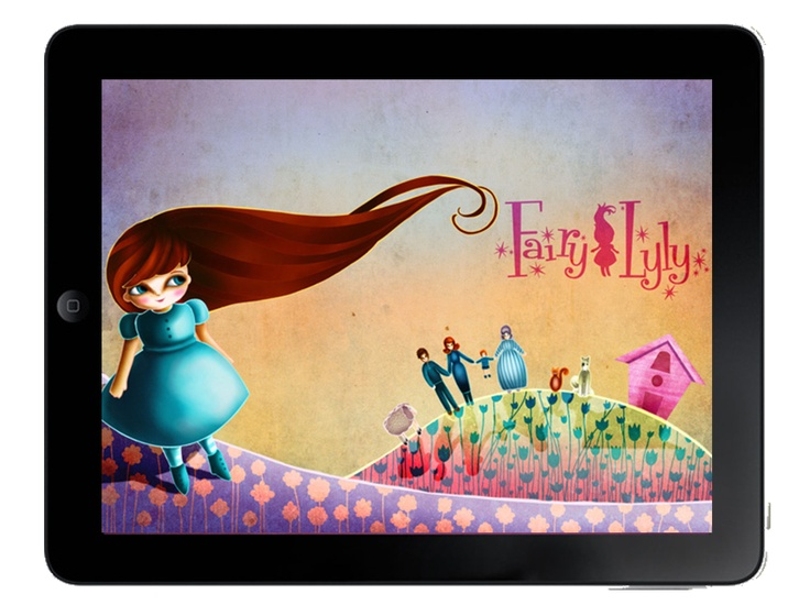 Fairy Lyly is a modern magic fairy tale for iPad and iPhone, loved by children 3+       The story is about a young girl, Lyly, who discovers to be a fairy, and her adventures in a wonderful magic world.  #fairylyly