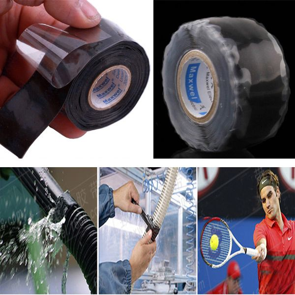 Useful Waterproof Silicone Performance Repair Tape Bonding Rescue Self Fusing Wire Sell Drop Shipping