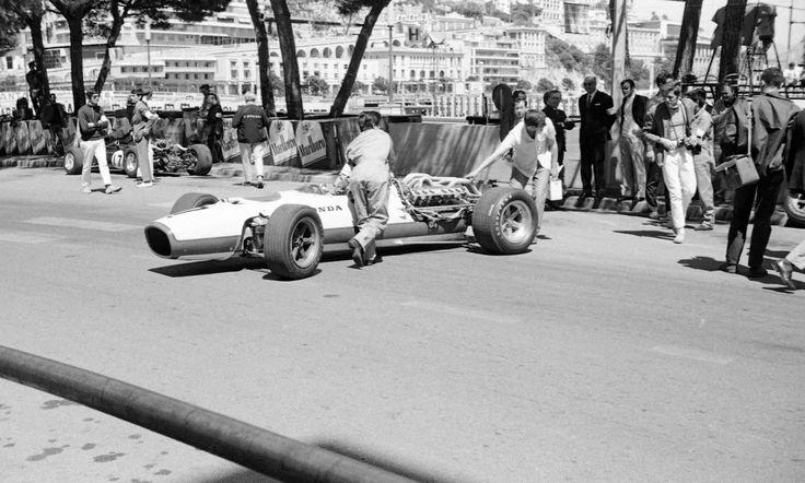 HONDA RA273 RA 273 JOHN SURTEES CAR 3 PHOTOGRAPH FOTO MONACO GRAND PRIX 1967 | eBay