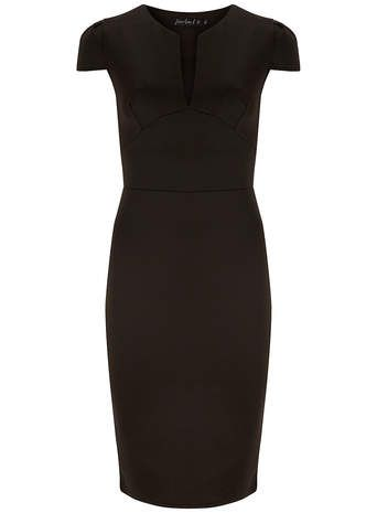 Scarlett B Black scuba pencil dress - Suits & Tailoring - Clothing