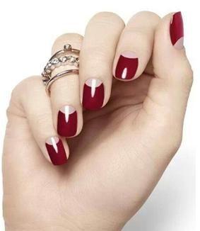 Best 25 1920s nails ideas on pinterest gatsby hair flapper half moon manicure prinsesfo Choice Image