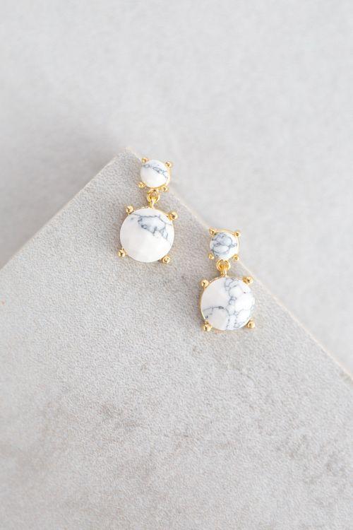 Lovoda - Mona Stone Earrings, $20.00 (http://www.lovoda.com/mona-stone-earrings/)
