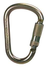 "MSA 2.1"" Auto-Locking Steel Carabiner"