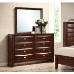Acme Furniture - Ireland Espresso Dresser and Mirror - 21454-21455   SPECIAL PRICE: $753.62