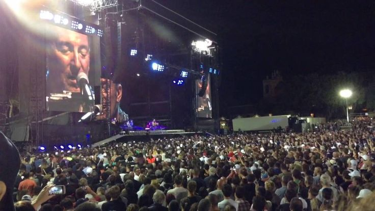 Bruce Springsteen- Thunder Road- Circo Massimo
