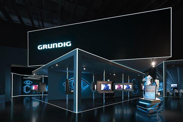 Grundig Consumer Electronics | IFA 2014 on Behance | by D'art Design Gruppe