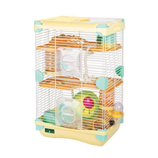 COMBO Alice adventureland hamster cage fun platform(S.Double Deck)+Mineral Stone #ALICE