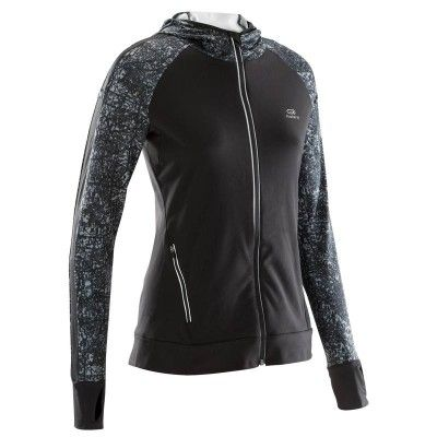 VESTE RUN WARM HOOD KALENJI - Vêtements running femme