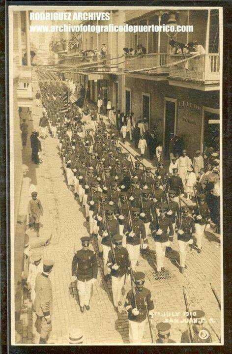 Independence Day Parade - San Juan, PR 04JUL1910 #PuertoRicoUSA
