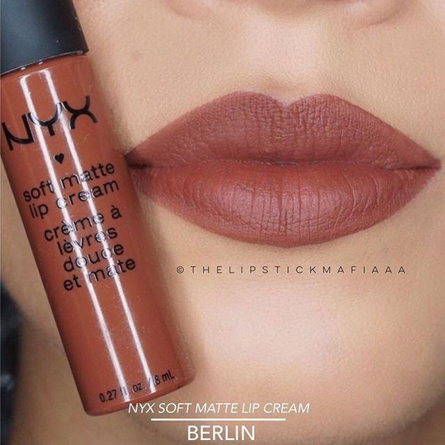 NYX Soft Matte Lip Cream :: BERLIN