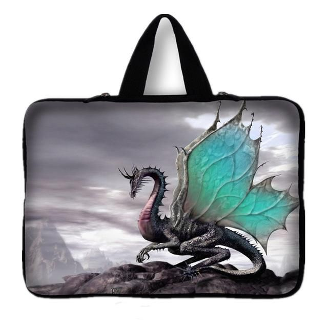 "Painted Laptop Bag Tablet Sleeve Notebook Case For 10.1 11.6 12 13.3 14"" 15.4 15.6 17.3 inch Computer"