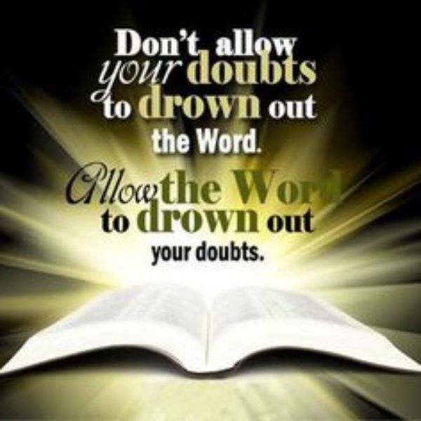 REFUSE TO DOUBT   Lord Jesus Saves︵‿ †   God, Words of ...