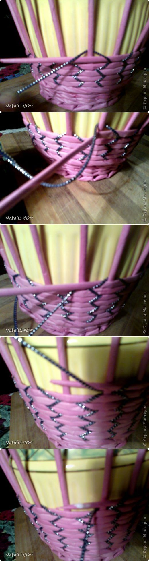 Необычное плетение   Страна Мастеров   Плетение из газет   Постила