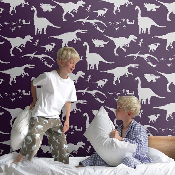 Dya-think-e-saurus wallpaper - Purple