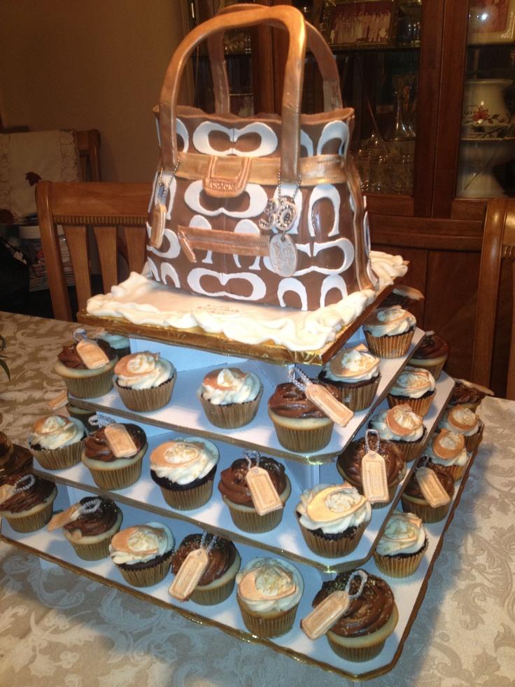 Fabulous Coach Purse Cake Too cute