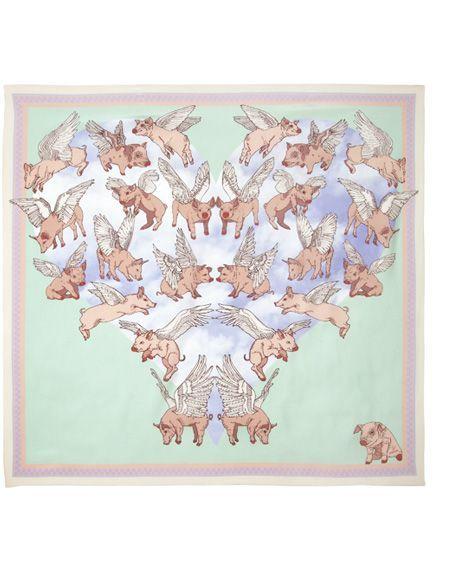 #Silken Favours Psychedelic swine - trippy!
