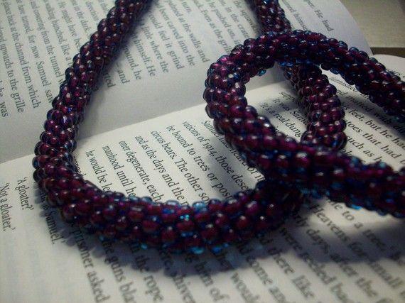 https://www.etsy.com/listing/63594008/dark-red-blue-necklace-and-bracelet-set