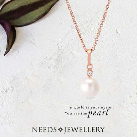 Pearl necklace from woman series. Lovely Perlesmykker to any woman's taste. Nice gift ideas for reasonable prices :)  #necklace #bracelet #ring #sterlingsilver #gold #rosegold #darksilver #pearls #silver #jewelry #NEEDSJEWELLERY
