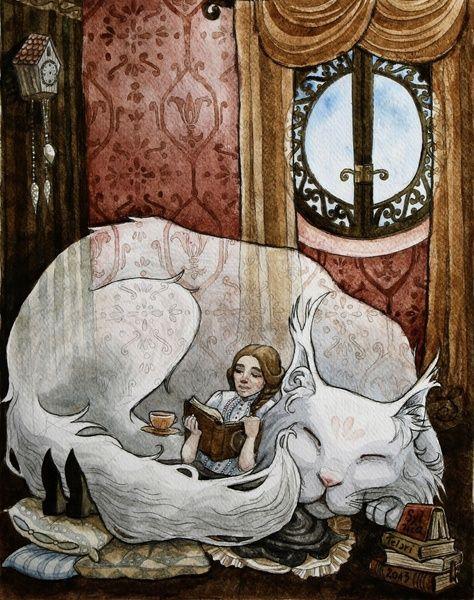 The big cat by Sylwia Telari