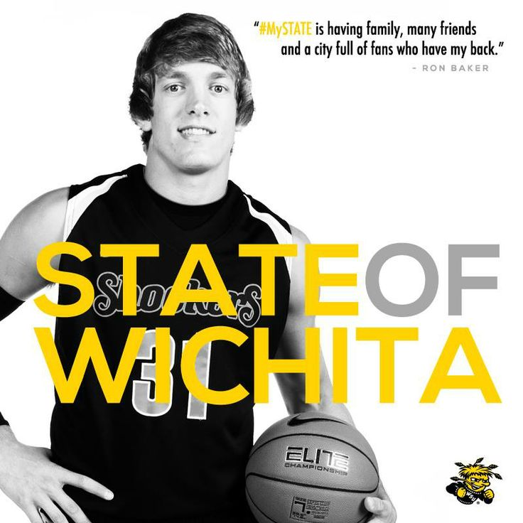 """ #MySTATE is having family, many friends and a city full of fans who have my back."" - Ron Baker #WATCHUS"