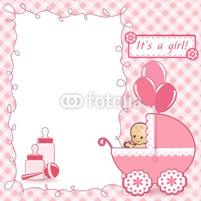 tarjetas para regalos baby shower niña - Buscar con Google