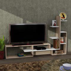 Mild Tv Ünitesi Beyaz-Somon