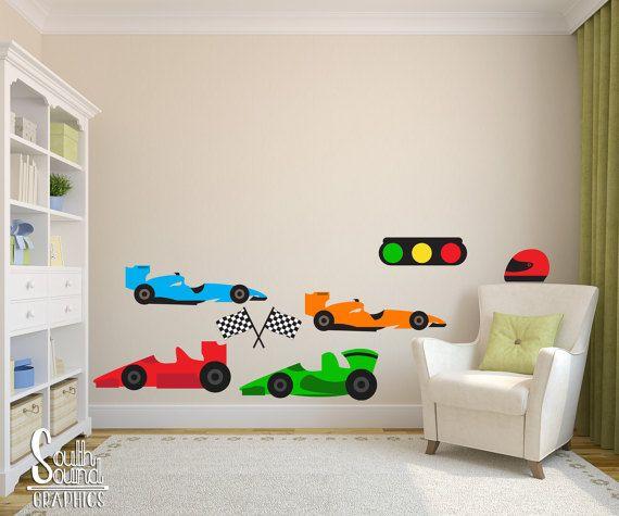 17 Best Ideas About Race Car Room On Pinterest
