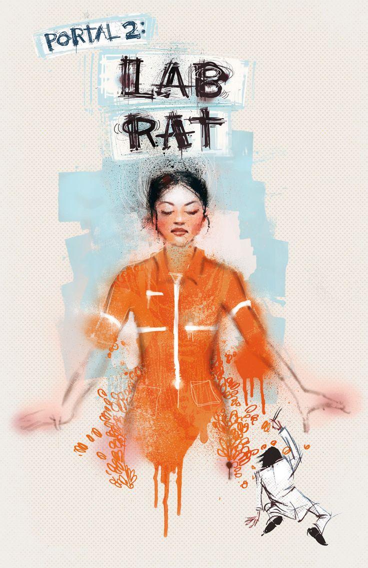 Portal 2 Lab Rat