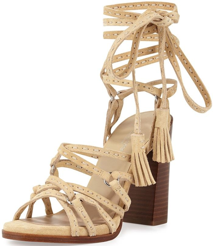 Women's Michael Kors Summer Sandals (Ecru Sport Suede/Jute) - YP