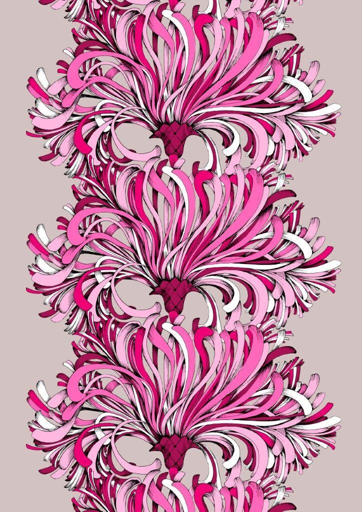Vallila Interior Lempi pink