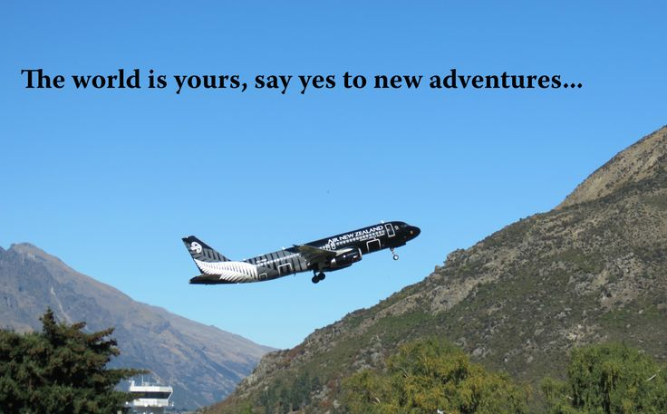 One of the most picturesque airports in the world and luckily the gateway into Wanaka - Air New Zealand showing us how its done!  Thanks for visiting!