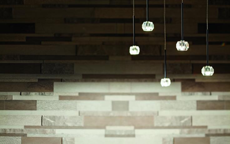 Stellina. Lighting fixture for Outdoors. Crystal. Design Pepe Tanzi