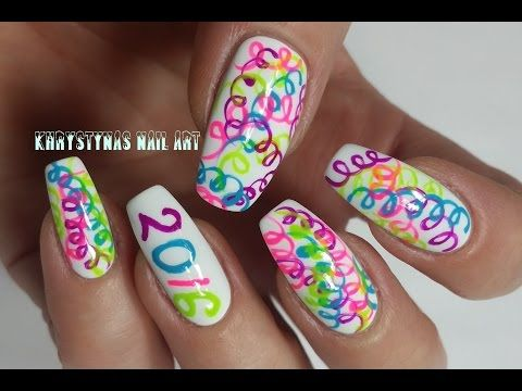 183 best nails nails nails khrystynas nail art videos images new years nail art happy new year khrystynas nail art youtube prinsesfo Choice Image
