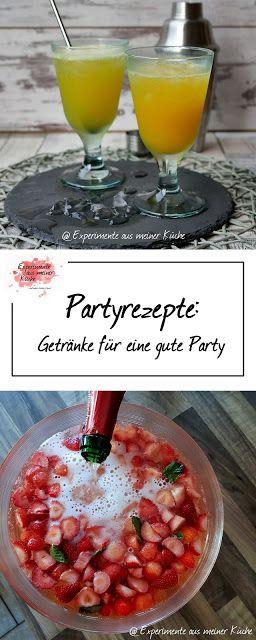 Der Countdown läuft auf … Partyrezepten für jeden Anlass – Sommergetränke