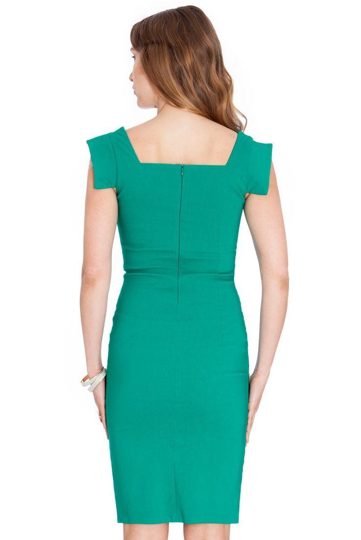 Rochie Rita Plus Verde