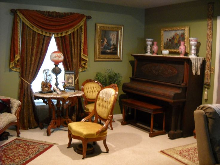 29 Best Victorian Living Room Parlor Images On Pinterest