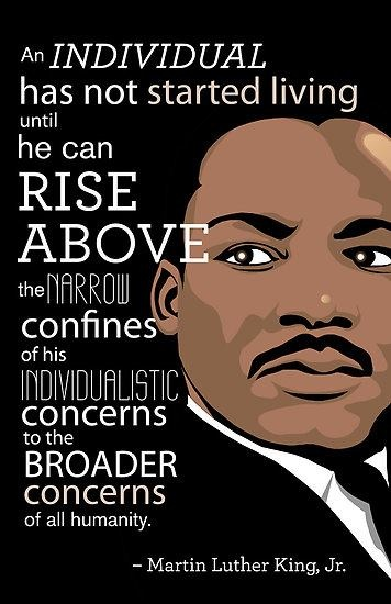 Items Similar To Martin Luther King Jr Inspirational Print On Etsy