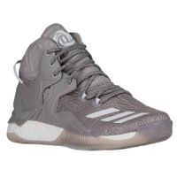 adidas D Rose 7 - Men's - Derrick Rose - Grey / White