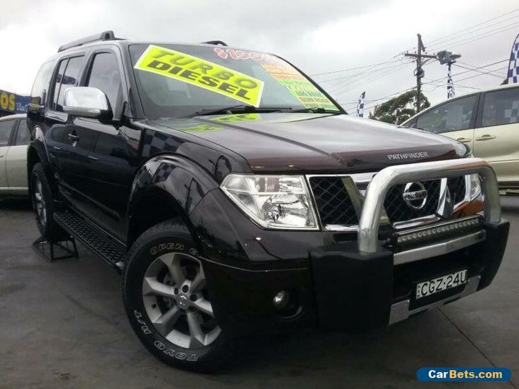 2008 Nissan Pathfinder R51 MY07 TI (4x4) Black Automatic 5sp A Wagon #nissan #pathfinder #forsale #australia