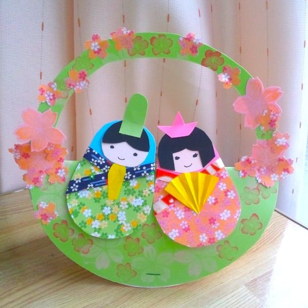 Matryoshka doll paper craft for Hina matsuri(March 3rd): the Festival of Dolls. Also called Girls' Day Festival. by NanaAkua, via Flickr