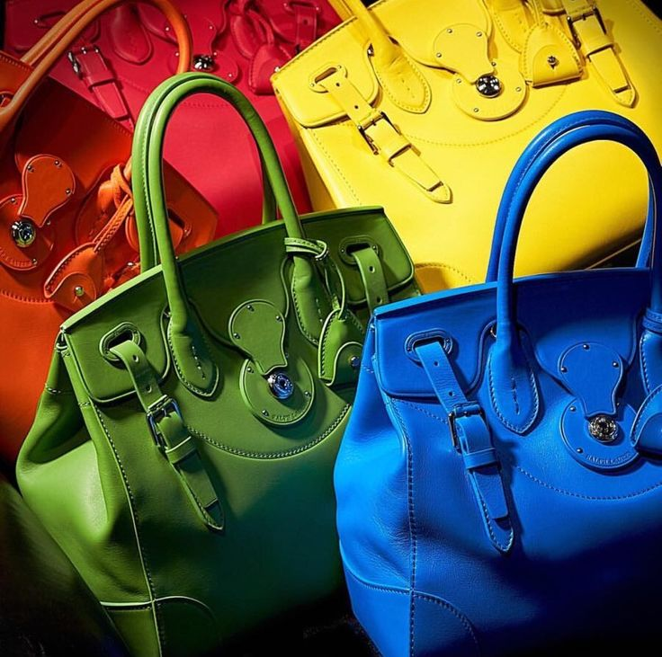 #RalphLauren The soft #Ricky #bag in ultra-soft nappa leather. #colours #Womanfashion #Fashion #Style #Woman #Womanstyle #Sensual #Lookcool #Trend #Awsome #Luxury #TimelessElegance #Charming #Apparel #Clothing #Elegant #Instafashion #Cool #musthave