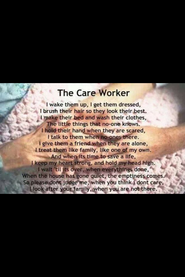 Care worker quotes