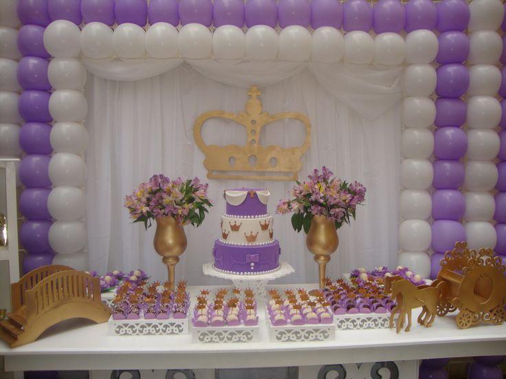 decoraç u00e3o festa princesa sofia Pesquisa Google Festa Pinterest Pesquisa