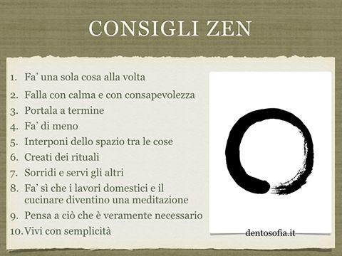 Consigli Zen
