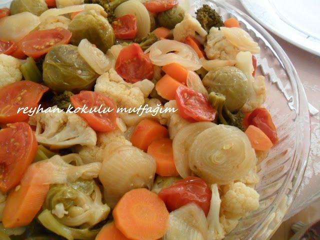 zeytinyağlı kış sebzeleri