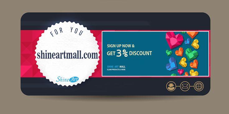 Please visit Shine Art online shopping mall. www.shineartmall.com  #shineart #shineartmall